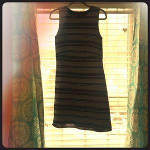 Black and White Ann Taylor Dress